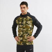 Nike Therma Full Zip Camo Hoodie
