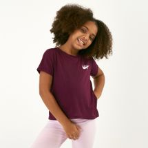 Nike Kids' Dri-FIT Graphics Studio Crop Top (Older Kids)