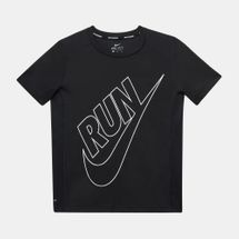 Nike Kids' Dry Miler Graphic Running T-Shirt