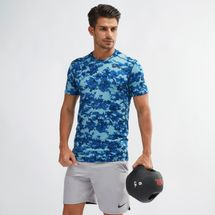 Nike Camo Print Training T-Shirt