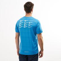 Nike Men's Dri-FIT Miler Graphic Running T-Shirt, 1477179