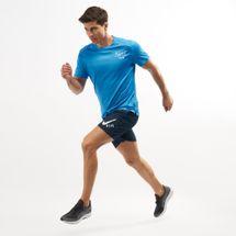 Nike Men's Dri-FIT Miler Graphic Running T-Shirt, 1477180