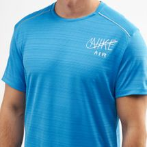 Nike Men's Dri-FIT Miler Graphic Running T-Shirt, 1477181