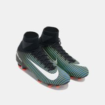 Nike Kids' Mercurial Superfly V Firm Ground Football Shoe, 432354
