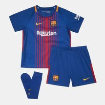Nike Kids' FC Barcelona Home Stadium Kit - 2017/18