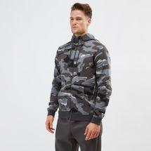 Nike Sportswear Club Fleece Camo Hoodie Grey