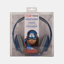 iHome Kids' Kiddesigns Captain America Over-Ear Headphones With Mic