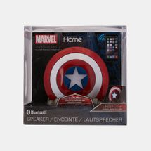 iHome Kids' Kiddesigns Marvel Captain America Shield Bluetooth Speaker