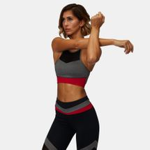 Squat Wolf Palette Sports Bra