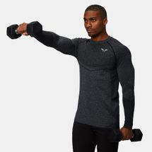 Squat Wolf Seamless Dry-Knit Full Sleeved Training T-Shirt