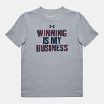 Under Armour Kids' Winning Business T-Shirt