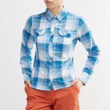 قميص كامب هينري طويل الأكمام من كولومبيا