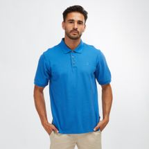Columbia Harborside™ Pique Polo Shirt Blue