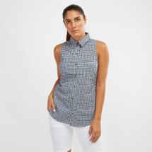 Super Harborside™ Woven Sleeveless Shirt