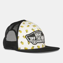Vans Peanuts Beach Girl Trucker Cap - Multi, 676317