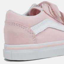 d4a82ee666 Shop Pink Vans Kids' Toddler Classic Tumble Old Skool V Shoe ...