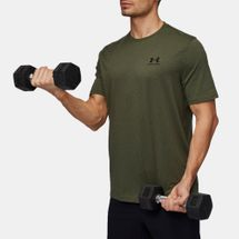 Under Armour Charged Cotton Left Chest Lockup T-Shirt