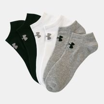 Under Armour Unisex Charged Cotton 2.0 No Show Socks 6 Pack