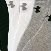 Under Armour Unisex Charged Cotton 2.0 No Show Socks 6 Pack, 1557727