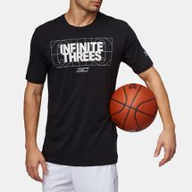 Under Armour SC30 Infinite Threes Basketball T-Shirt
