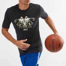 Under Armour SC30 3D Dribbler Basketball T-Shirt