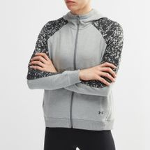 Under Armour Microthread Terry Printed Full Zip Hoodie
