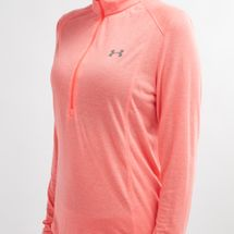 Under Armour Threadborne Twist 1/2 Zip Long Sleeve T-Shirt, 1176982