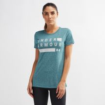 Under Armour Threadborne Graphic Twist Training T-Shirt