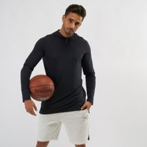 Under Armour Baseline Hooded Long Sleeve Basketball T-Shirt
