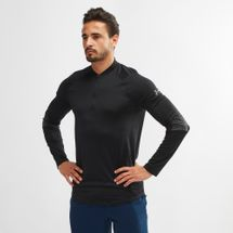 Under Armour MK-1 1/4 Zip Graphic Long-Sleeve T-Shirt