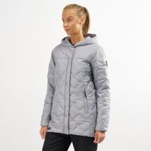 Columbia Women's Hawks Prairie Hybrid Jacket Grey