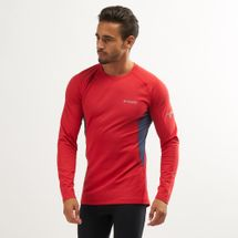 Columbia Men's Titanium Omni-Heat 3D Knit Crew Long Sleeve Top