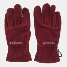 Columbia Thermarator Fleece Gloves Red