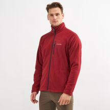 Columbia Fast Trek II Full Zip Fleece Jacket Red