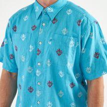 Columbia Men's PFG Harborside™ Linen Camp Short Sleeved Shirt, 1566615