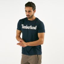 Timberland Men's Kennebec River Brand Regular T-Shirt Blue