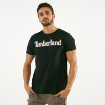 Timberland Men's Kennebec River Brand Regular T-Shirt Black