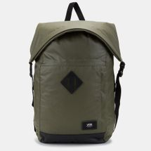 Vans Fend Roll Top Backpack - Green, 1135567