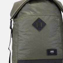 Vans Fend Roll Top Backpack - Green, 1135570