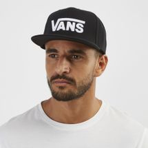 Vans Drop V Snapback Hat - Black, 1248831
