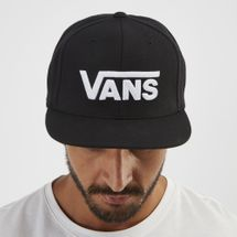 Vans Drop V Snapback Hat - Black, 1248833