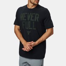 Under Armour Project Rock Never Full T-Shirt