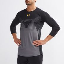 Under Armour Project Rock Vanish 3/4 Long Sleeve T-Shirt