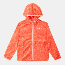 Under Armour Kids' Sack Pack Full Zip Jacket Orange