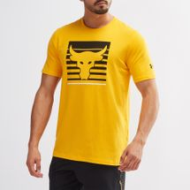 Under Armour X Project Rock Rent's Due T-Shirt