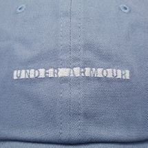 Under Armour Favourite Wordmark Cap - Blue, 1211372