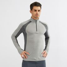 Under Armour Swyft 1/4 Zip Long Sleeve T-Shirt