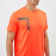 Under Armour Run Tall Graphic Running T-Shirt, 1218511