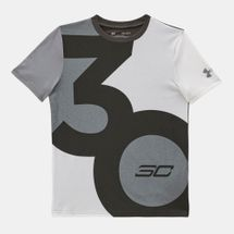 Under Armour Kids' SC30 Big 30 Logo T-Shirt