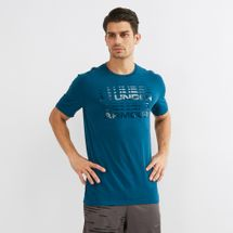 Under Armour Wordmark Glitch T-Shirt